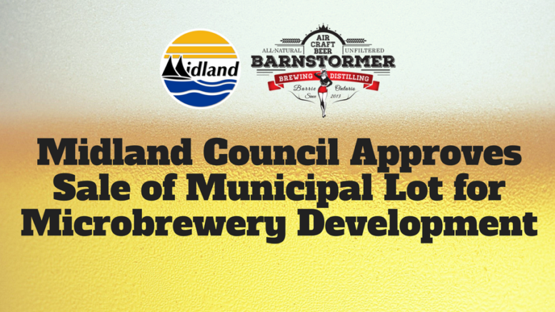 Town of Midland Approves Barnstormer Brewery Sale