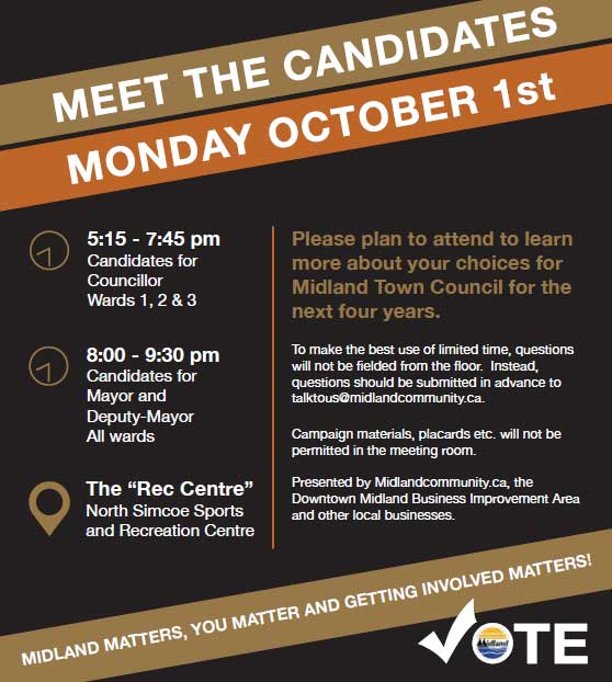 Meet The Candidates - October 1