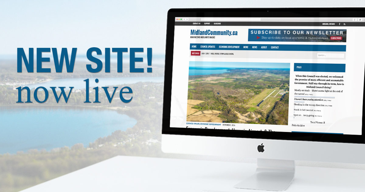 Our new website is live! | Midland Community