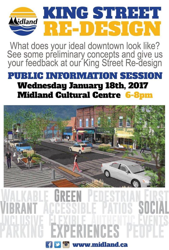 King Street Re-Design Public Information Night