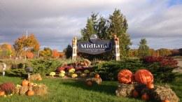 Midland Ontario Fall Scence