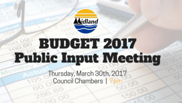 Town of Midland 2017 Budget - Public Meeting