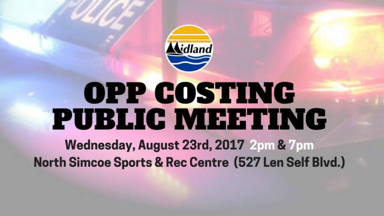 Town of Midland Public Input Meeting - Policing