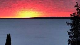 Midland Ontario sunrise